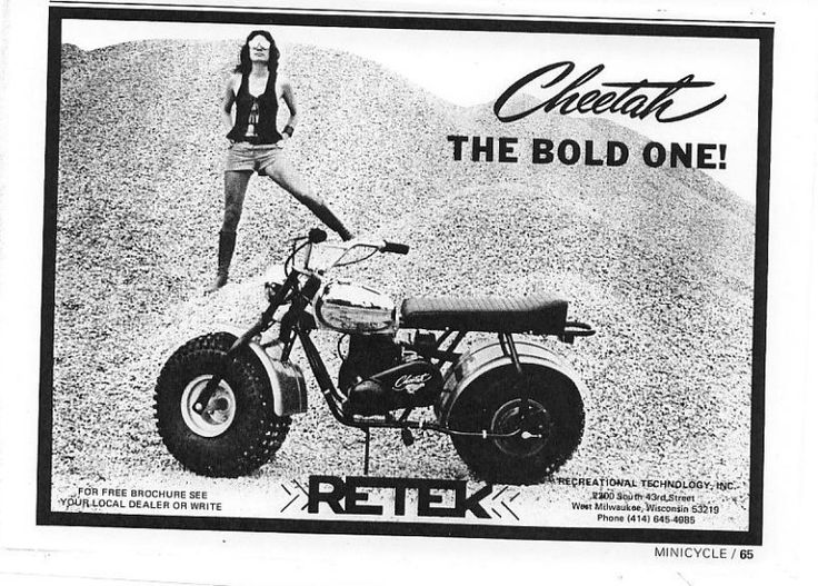 Retek Cheetah Mini Bikes & Go Karts Pinterest