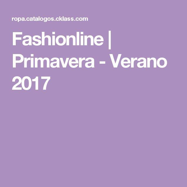 Fashionline | Primavera - Verano 2017