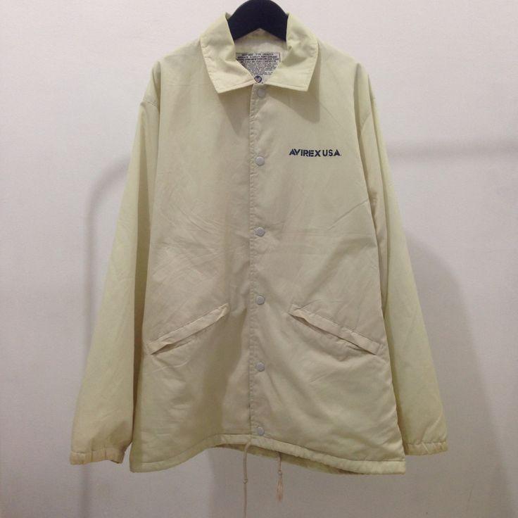Vintage avirex pit crew reno race coach jacket by Okubukovintagestuff on Etsy