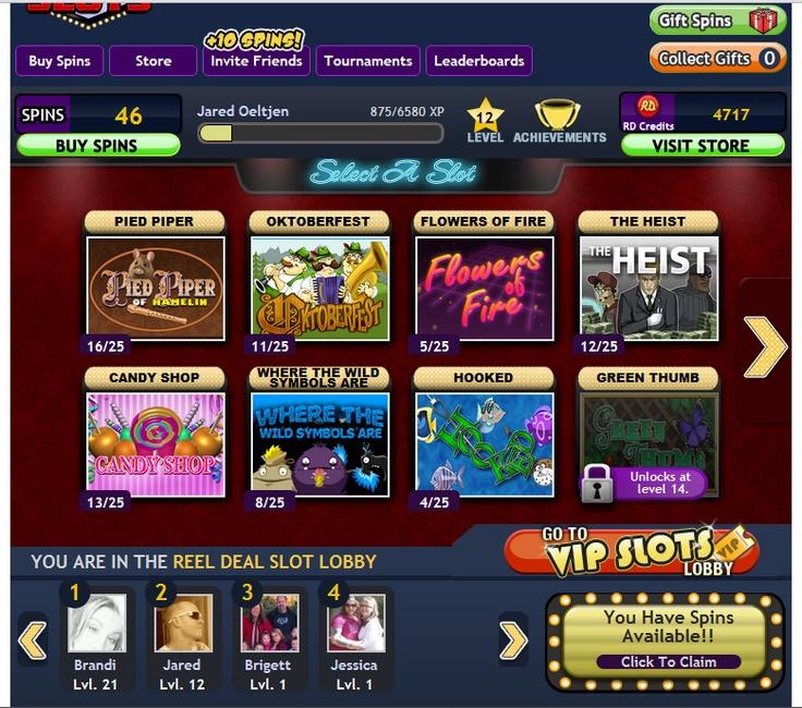 slot games on facebook
