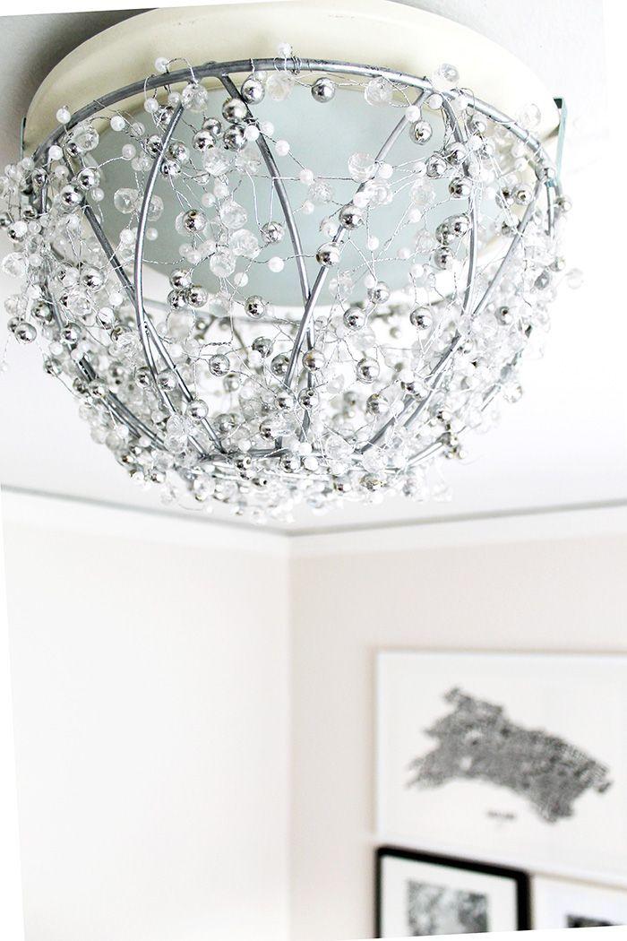 DIY: chandelier