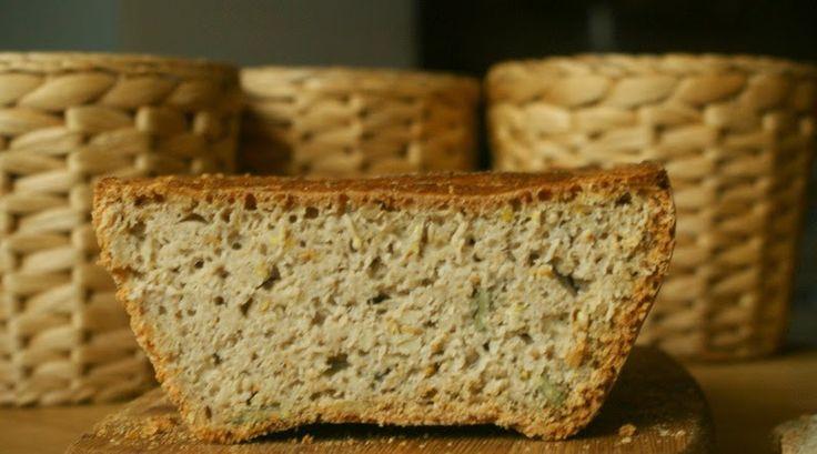 Zdrowo zakręcona: Bezglutenowy chleb owsiano-gryczany na drożdżach. Bez wyrabiania. Najprostszy i najlepszy!