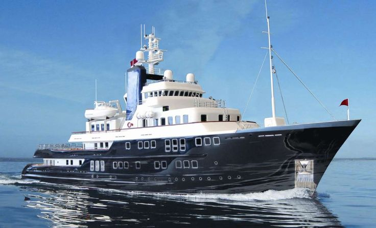 The 60m expedition yacht concept by Derecktor and Vripack.