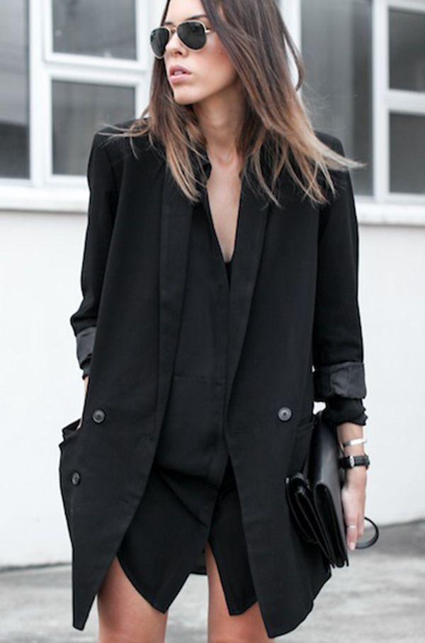 look all black