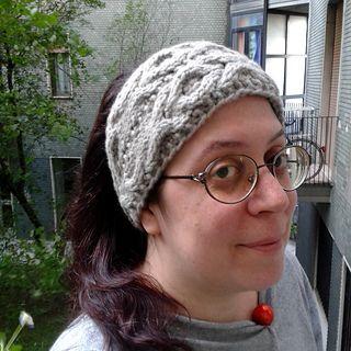 Fascia copriorecchie a maglia in Sowool o SoCachemire.
