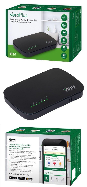 Smart Home Zentrale VeraPlus (Gateway) | Z-Wave Plus, Bluetooth LE, ZigBee und WLAN Unterstützung.