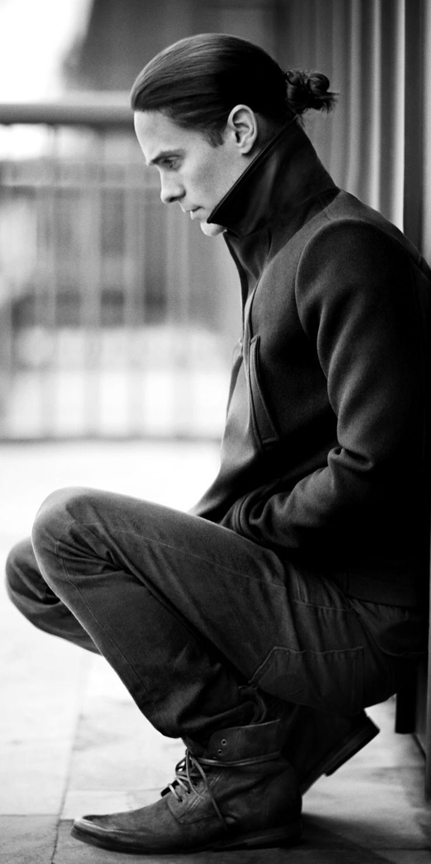 Jared Leto + man bun = perfection
