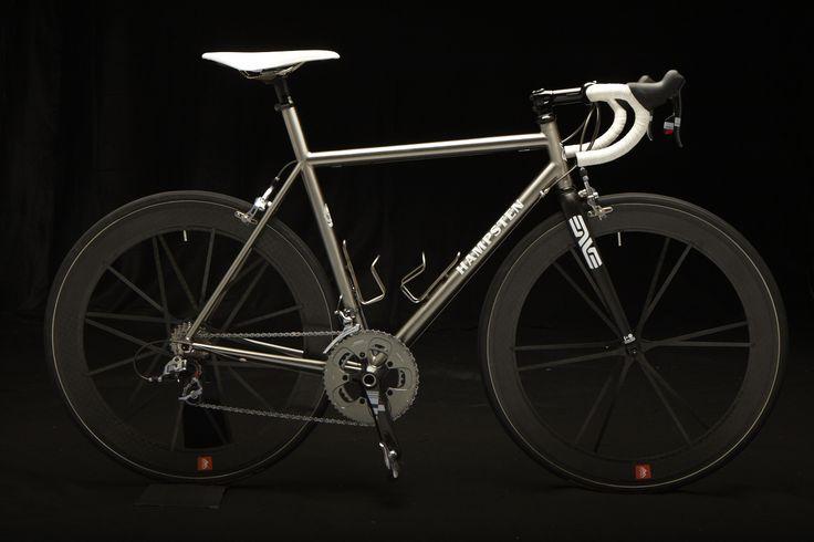 RE-PIN THIS!    Hampsten Cycles Titanium Road Bike
