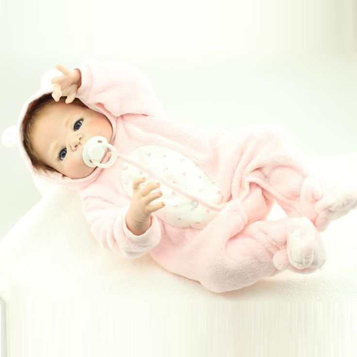 58cm Full body silicone reborn baby boy dolls lifelike newborn girl baby doll for child bathe shower bedtime play house toy-in Dolls from Toys & Hobbies on Aliexpress.com   Alibaba Group