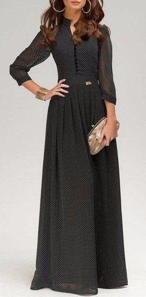 Красивейшие платья макси