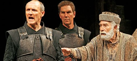 'Coriolanus', 2006: (also seen 1997, with Tom McCamus as Coriolanus) 'Lauded by T.S.Eliot as WS's greatest achievement, 'Coriolanus' is at once personal & political... perhaps inevitable for a play written in 1608, a year of plague, famine, political riots & the death of Shakespeare's mother.' (A. Cimolini, director). With Colm Feore as 'Coriolanus' & other outstanding actors - an excellent & memorable production.
