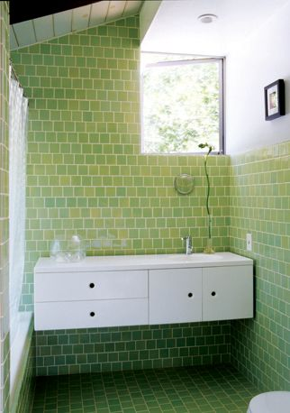 40 best images about mid century modern home ideas on for Bathroom design 3x3