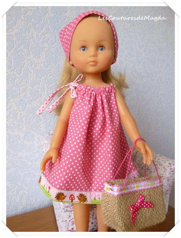 Mum was always making dolls clothes for us Xx