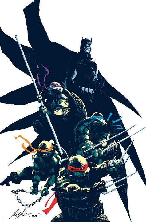 Batman / TMNT Retailer Variant Covers! - IDW Publishing