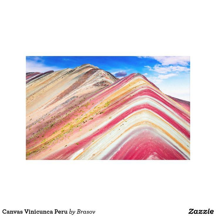 Canvas Vinicunca Peru