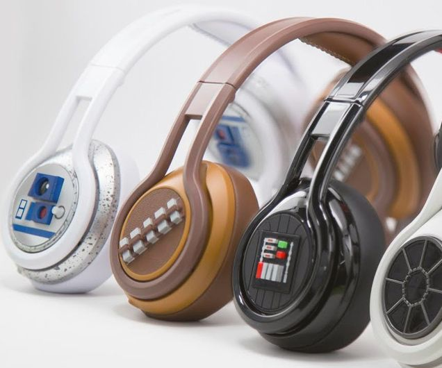 Pay homage to the best Sci-Fi saga of all time by listening to your tunes out of these Star Wars headphones. They feature 40mm professionally tuned drivers that deliver incredible sound from the Star Wars themed frames.