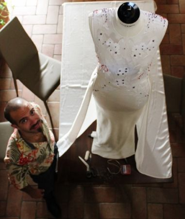 MITRANI YARDEN, THE ARTISTIC WEDDING DRESS - READ THE POST AND WATCH THE CLIP!