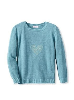 62% OFF Moon Et Miel Girl's Elodie Sweater (Blue/Gold Heart)