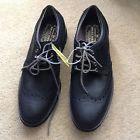 SKETCHERS Wing Tip Memory Foam size 9 Medium (D,M) leather black - http://shoes.goshoppins.com/mens-loafers-oxfords/sketchers-wing-tip-memory-foam-size-9-medium-dm-leather-black/