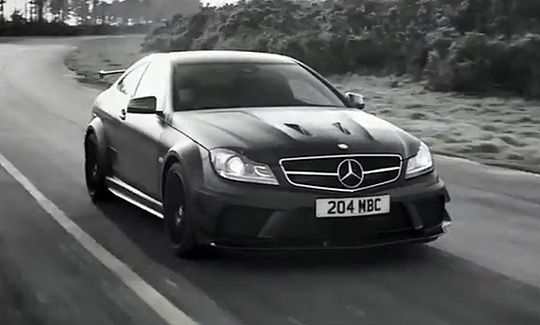 video mercedes benz dark side of the c63 amg black series dark sexy and cars
