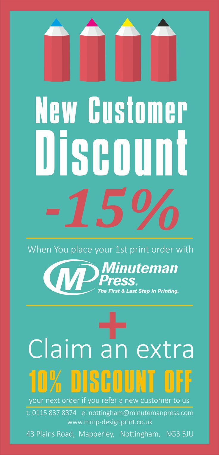 Poster design nottingham - Minuteman Press Printers In Nottingham Promotional Flyer Design