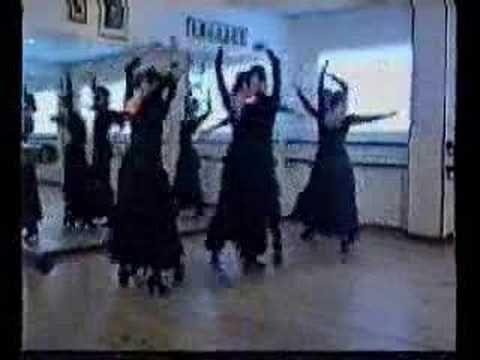 Cursos De Sevillanas Paso A Paso 3ª Parte - YouTube