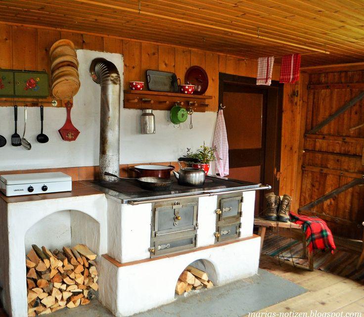 Alter Holzherd - Wohnen und Garten Foto