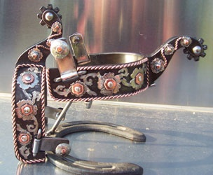 SPURS MADE BY TODD BOWMAN