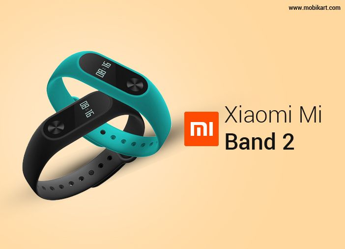 Xiaomi Mi Band 2 is Now Official in India