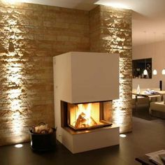 Produktfoto des Kamin Panoramakamin 16 von BRUNNER