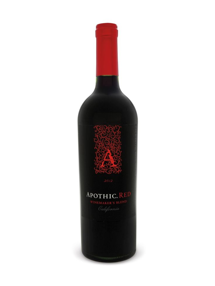 Apothic Red - Medium bodied and fruity.  Tasted very nice on its own.