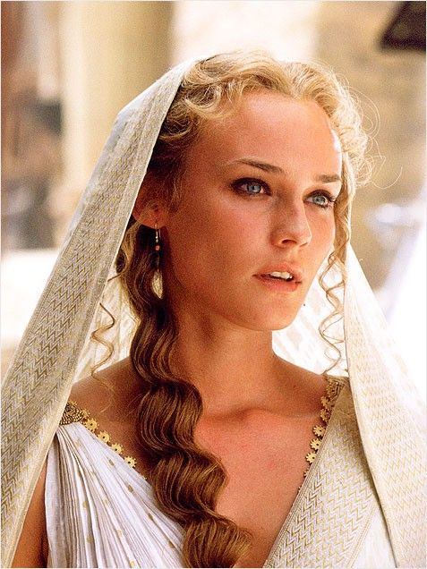 diane kruger- Helen of Troy, said to be the most beautiful woman in Greek Mythology