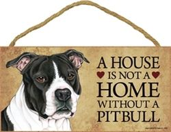 Pit Bull Signs