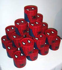 como decorar coquis de hombre araña - Buscar con Google