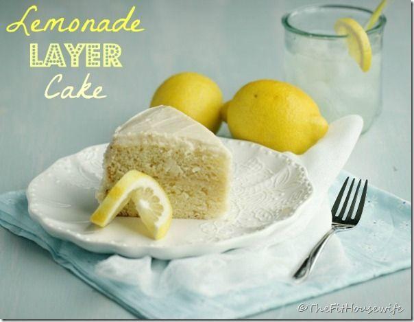 Lemonade Layer Cake Weight Watchers