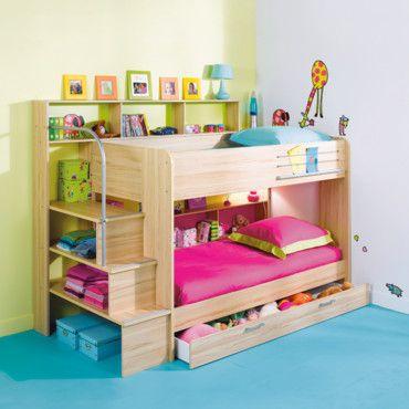 15 best chambre fille images on pinterest girls bedroom bedrooms and bath decor. Black Bedroom Furniture Sets. Home Design Ideas