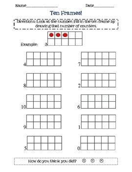 25 best Math Activities ~ Ten Frames images on Pinterest   Ten ...