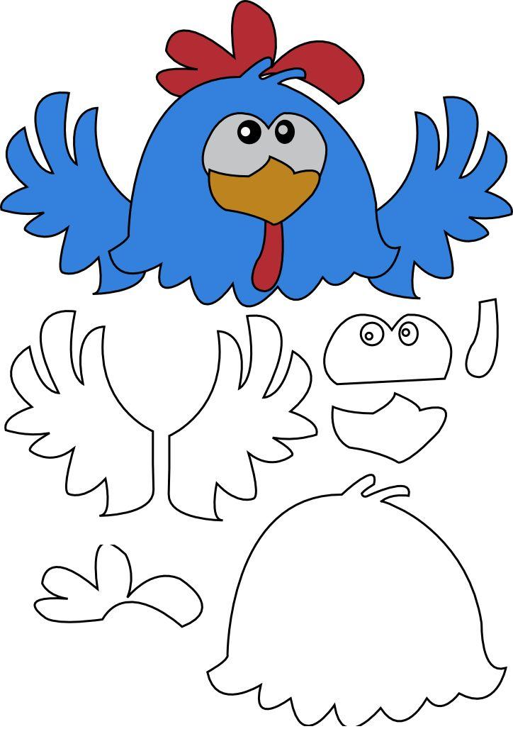 molde de eva galinha pintadinha - Pesquisa Google
