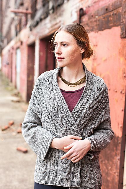Stranger Cardigan By michiyo - Purchased Knitted Pattern - (ravelry)
