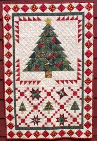 Christmas Tree Crossing Quilts Pinterest ́�리스마스