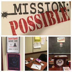 For our 2015 Activity Day theme, we decided to do a Mission Possible theme. We were inspired by Pinterest with a lot of our ideas. The mis...