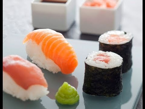 Recette de sushis et makis de thon et saumon