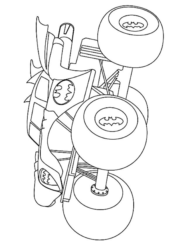 Print Coloring Image Momjunction Monster Truck Coloring Pages