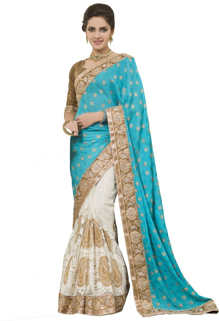 #Fashion #Sari #Net #Multicolor #saree