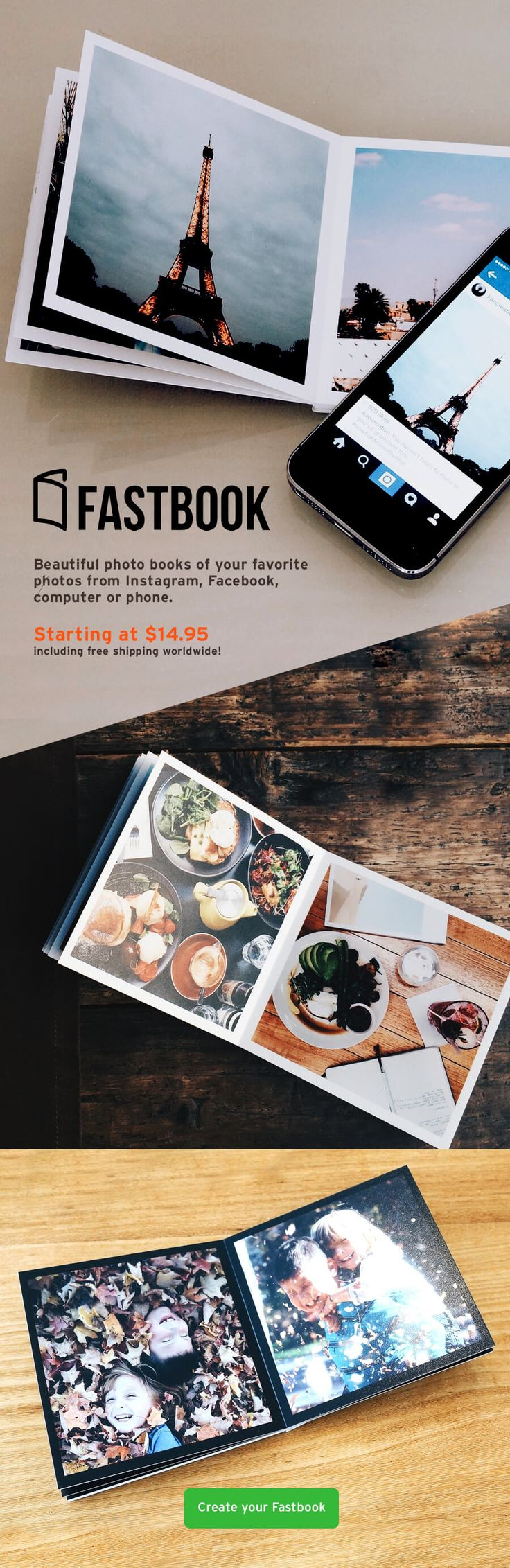 """There are many great ways to use these 4""""x4"""" photo books."""