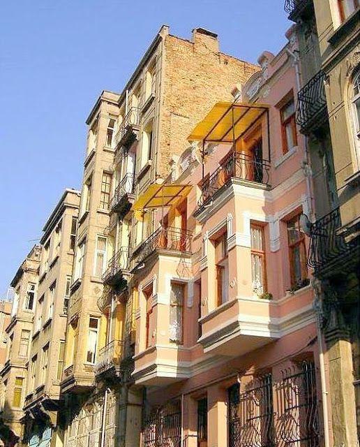 Yeldeğirmeni evleri, Kadıköy - İstanbul 2006.