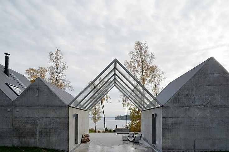 simplistic & sublime ~ 45 years in precast concrete industry ~ so sublime ~ Lagno Summerhouse by Tham & Videgard Arkitekter