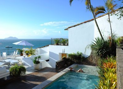 Casas Brancas, winner of the Fodor's 100 Hotel Awards for the Casual Chic category #travel