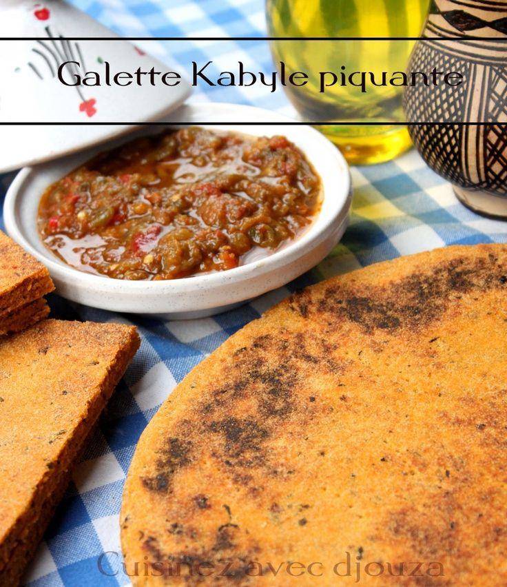 Recette galette kabyle menthe tomate moroccan algerian for Algerien cuisine