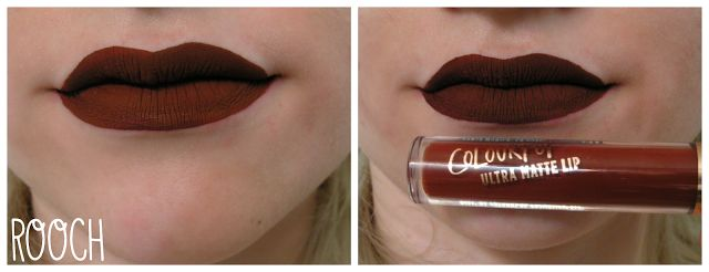 Colourpop Rooch swatch. Love this color!! Colourpop liquid lipsticks are so good and so inexpensive!